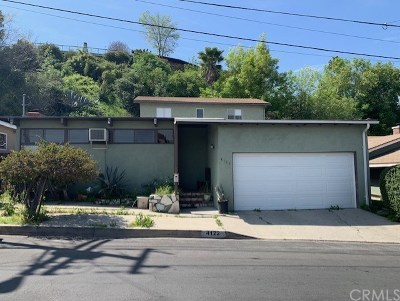 Eagle Rock Single Family Home For Sale: 4122 Palmero Drive