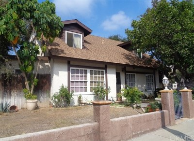 Santa Ana Multi Family Home For Sale: 1013 E 18th Street