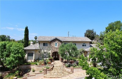 Yorba Linda Single Family Home For Sale: 5630 Kellogg Drive