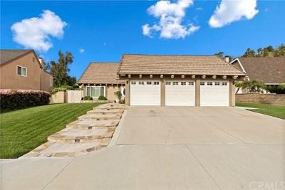 Yorba Linda Single Family Home For Sale: 6181 Jacaranda Lane
