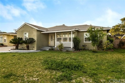 Downey Single Family Home For Sale: 12911 Barlin Avenue