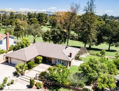 Yorba Linda Single Family Home For Sale: 5142 Fairway View Drive