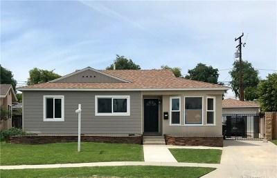 Long Beach Single Family Home For Sale: 6506 E Brittain Street