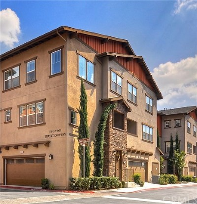 Yorba Linda Condo/Townhouse For Sale: 17012 Traditions Way