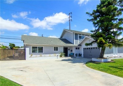 Fountain Valley Single Family Home For Sale: 16286 Vernon Street