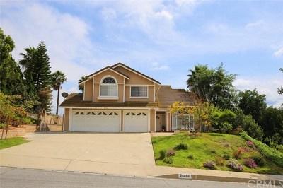 Diamond Bar Single Family Home For Sale: 24484 Eastgate Drive