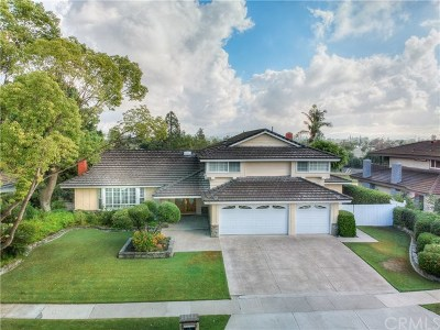 Fullerton Single Family Home For Sale: 761 Arbolado Drive
