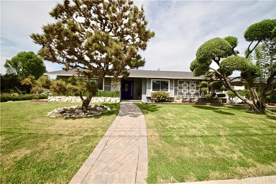 Fullerton Single Family Home For Sale: 701 E Hermosa Drive