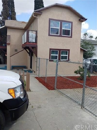 San Bernardino Multi Family Home For Sale: 995 N D St