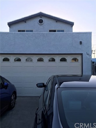 Long Beach Single Family Home For Sale: 3417 Adriatic Avenue