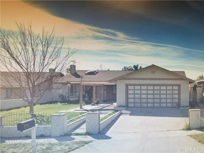 Fontana Single Family Home For Sale: 7350 Palm Lane