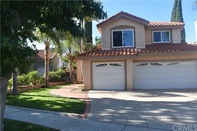 Corona Single Family Home For Sale: 1383 Sonora Drive