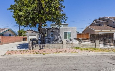 Garden Grove Single Family Home Active Under Contract: 10131 Imperial Avenue