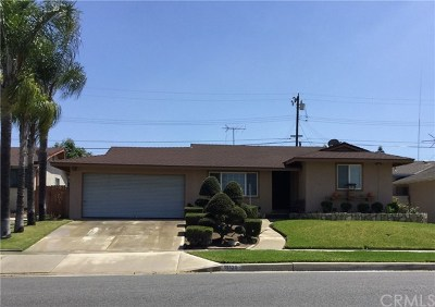 La Mirada Single Family Home For Sale: 15120 Crosswood Road