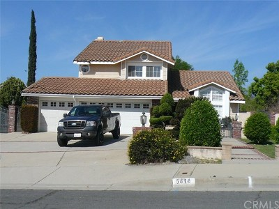 Rancho Cucamonga Single Family Home For Sale: 5814 Timbermist Place