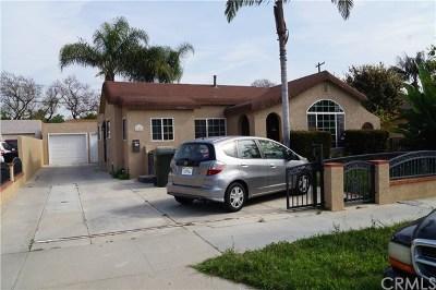 Fullerton Single Family Home For Sale: 121 E Elm Avenue