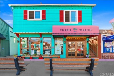 Orange County Commercial For Sale: 320 Marine Avenue