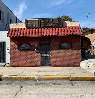 Los Angeles Commercial For Sale: 3815 Hammel Street