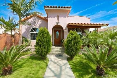 Long Beach Single Family Home For Sale: 319 E 55th Street