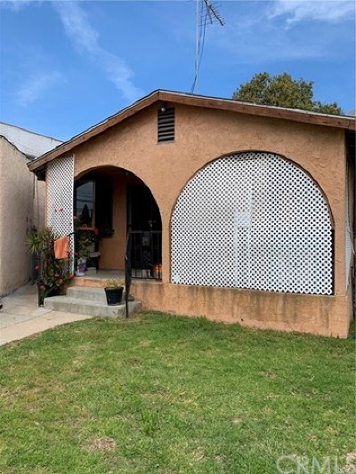 Los Angeles Single Family Home For Sale: 3817 Hammel Street