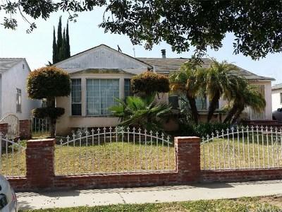 Compton Single Family Home For Sale: 2720 W Tichenor Street