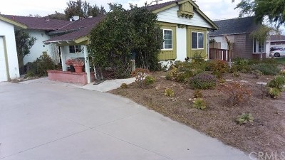 Anaheim Single Family Home For Sale: 1023 N Whittier Street
