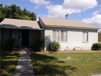 Long Beach Single Family Home Active Under Contract: 3624 Easy Avenue