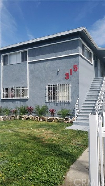 Los Angeles Multi Family Home For Sale: 315 W 65th Street