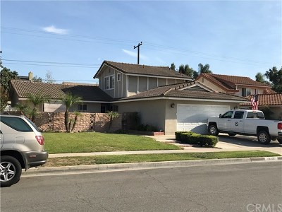 Fountain Valley Single Family Home For Sale: 16708 Redwood Street
