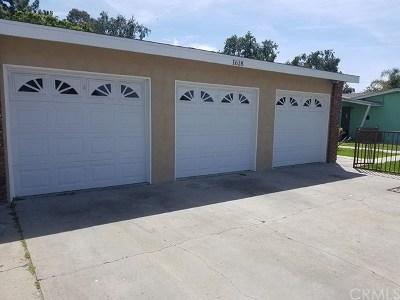 Anaheim Single Family Home For Sale: 1618 E Romneya Drive #A