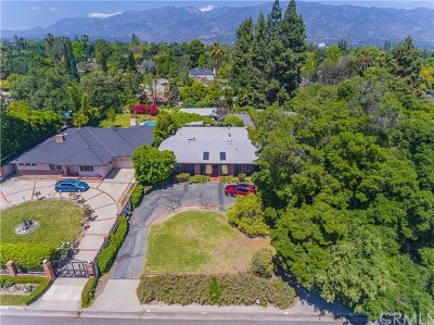 Pasadena Single Family Home For Sale: 3205 Lombardy Road