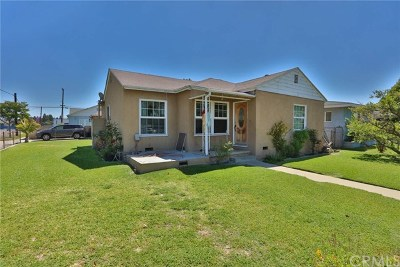 Pico Rivera Single Family Home Active Under Contract: 8803 Sandlock Street