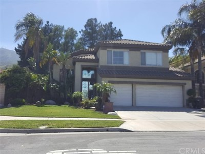 Corona Single Family Home Active Under Contract: 3600 Santa Clara Circle