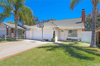 Mission Viejo CA Single Family Home For Sale: $749,000