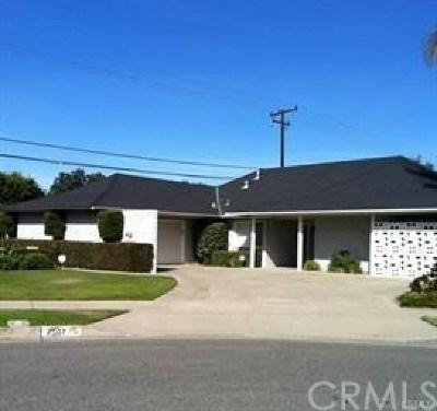 Orange County Rental For Rent: 2507 E Roberta Drive