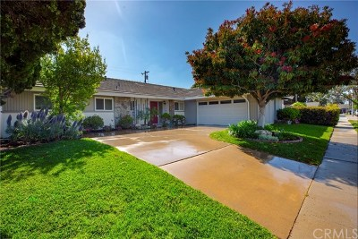 Costa Mesa Single Family Home For Sale: 2840 Monterey Avenue