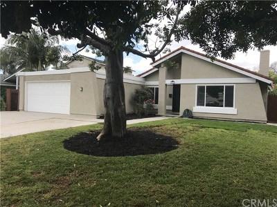 Santa Ana Single Family Home For Sale: 2806 Lowell Lane