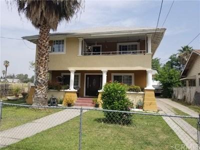 San Bernardino Multi Family Home For Sale: 572 W 8th Street