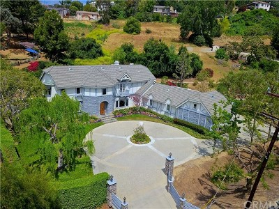 La Habra Heights Single Family Home For Sale: 1693 Benik Road