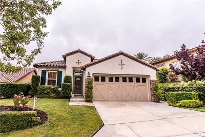 Corona Single Family Home For Sale: 24080 Augusta Drive