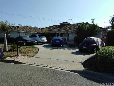 West Covina Single Family Home For Sale: 1109 S Fleetwell Avenue
