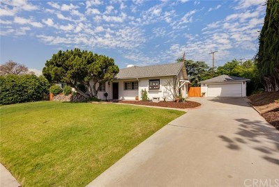 Whittier Single Family Home For Sale: 16211 Janine Drive