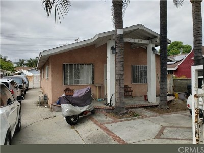Compton Multi Family Home For Sale: 921 N Muriel Avenue