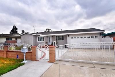 Garden Grove Single Family Home For Sale: 13172 Lucille Street