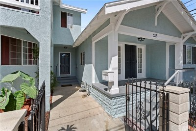 Santa Ana Single Family Home For Sale: 216 S Halladay Street