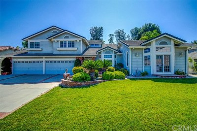 Yorba Linda Single Family Home For Sale: 4860 Via Del Cerro