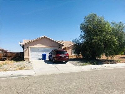Adelanto Single Family Home For Sale: 10418 High Mesa Street