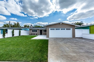 Costa Mesa Single Family Home For Sale: 2230 Avalon Street