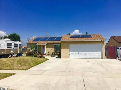 Fontana Single Family Home For Sale: 17378 Malaga Street