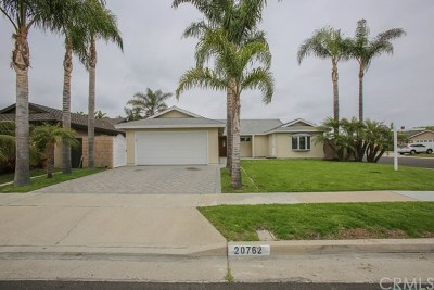 Huntington Beach Single Family Home For Sale: 20762 Hopetown Lane